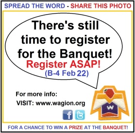 IMPORTANT: Banquet Registration Update