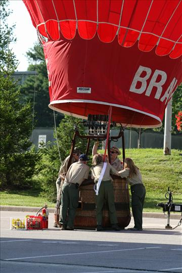 Hot Air Balloons Sail Into Conestoga In August!